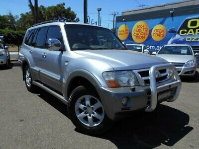 2004 Mitsubishi Pajero NP Exceed Silver Automatic A Wagon