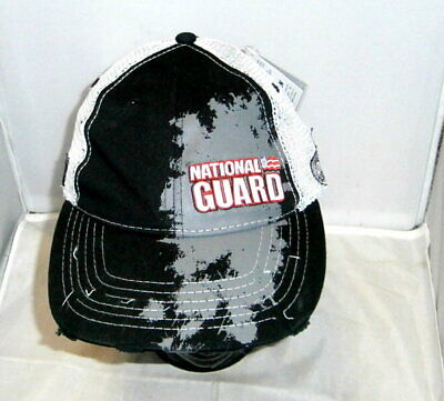 Chase  88 National Guard Painted Trucker Pit Cap Hat Dale Earnhardt Jr Nwt 87df235fb23d