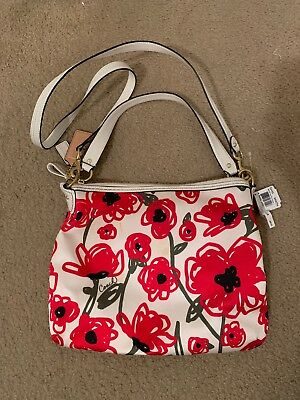Poppy Flower Coach Cross Body 22440 8000 Picclick