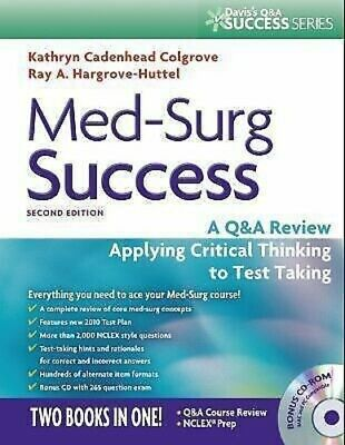 Med-Surg Success: A QA Review Applying Critical Thinking...PDF*Ebook