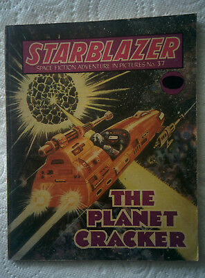 "Starblazer #37 ""THE PLANET CRACKER"" published by DC Thomson dated 1980"