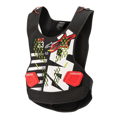 Alpinestars 2019 Sequence MX Motocross Armour Chest Protector