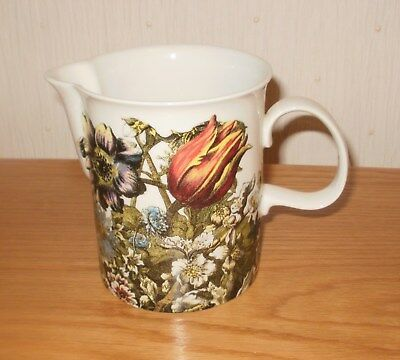 "Scottish Dunoon pottery ""Flora"" 4.5"" high jug"