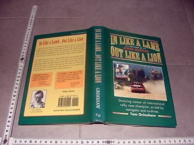 Book The Story of John Buffum rally race champion USA  Audi quattro Sport RAR
