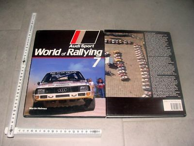 Audi Sport World of Rallying 7 1984 - Martin Holmes - quattro Rally Röhrl RAR!