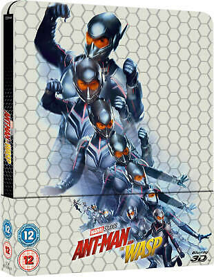 Ant-Man and the Wasp - 3D Blu-ray - Limited Edition Steelbook - Region Free