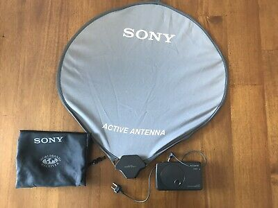 Sony Active Antenna AN-LP2 Loop & Controller. Boosting AM World Radio Reception
