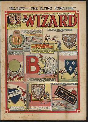 Wizard 1454, Christmas Issue