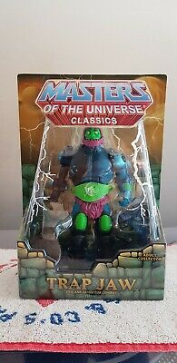 TRAP JAW - He-Man Masters of the Universe Classics MOTU NEW RARE! 1ST EDITION