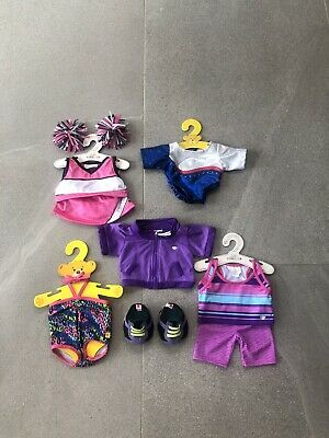 """Build A Bear clothes and shoes bundle """"Sportswear"""" 8 Items"""