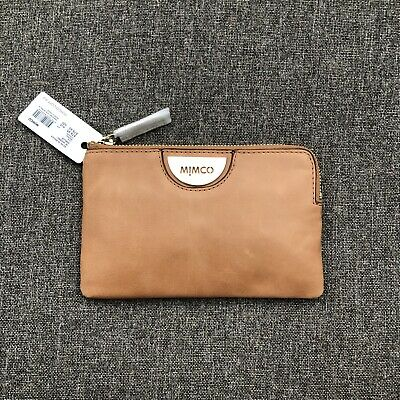 Mimco Echo Caramel Soft Leather Pouch Wallet• Authentic • New with Tag
