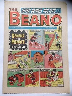 DC Thompson THE BEANO Comic. Issue 2243. July 13th 1985. **Free UK Postage**