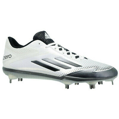 625e12793d16 New Adidas Adizero Afterburner 2.0 Baseball Metal Cleats White   Grey Size  14 M
