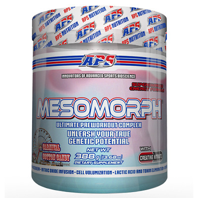 DMAA FREE | APS MESOMORPH Competition Series 388 grams KING OF PRE WORKOUTS