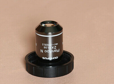 Olympus PLANAPO -N 2X  FN26.5 UIS2  Microscope Objective