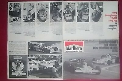 Depliant Marlboro F1 World Champion Team 1976