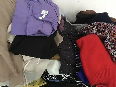 Huge 95 Items Joblot Bundle Ladies Clothes Mixed Brand & Sizes New & Used