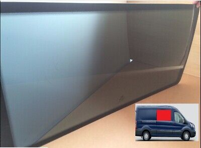 Ford Transit MK8 Dark Tint Right Hand Side Panel Fixed Van Window for 2014-2018