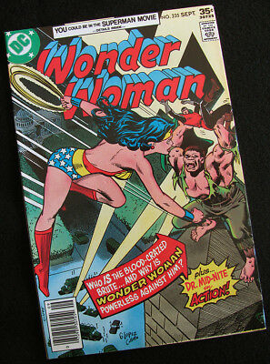 Wonder Woman 235 (1977) Guest Star Dr. Mid-Nite! Beautiful Nm-! Large Photos