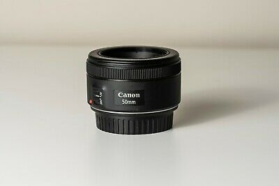 Used Canon EF 50mm STM f/1.8 II Lens Great Condition