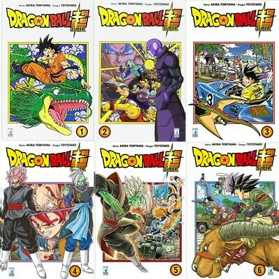 MANGA Dragon Ball Super Nº1-6 NUOVI