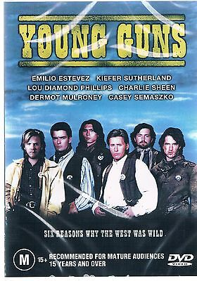 Young Guns DVD  NEW AND SEALED