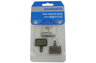 BNIP SHIMANO Disc Bake Pads BR-T615 Pad B01S & Spring with Pins