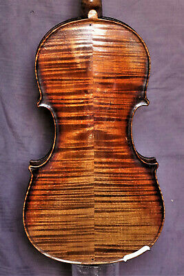 "Old violin - Alte Geige 4/4 lab. ""J. GUARNERIUS CREMONAE ANNO 1713"""