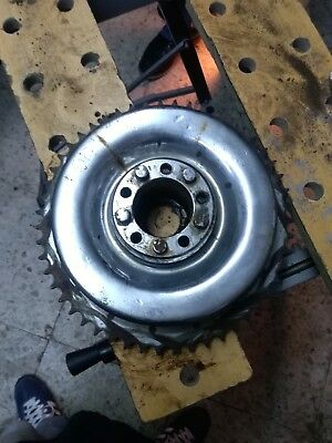 Harley Davidson drum brake 1936-1957