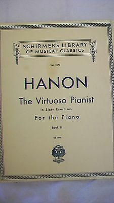 Hanon The Virtuoso Pianist In Sixty Exercises Piano Sheet Music from G. Schirmer