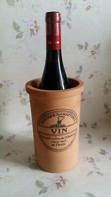 Rustic Vintage Italian Terracotta Wine Cooler Home Bar Decor Or Flowers Vase