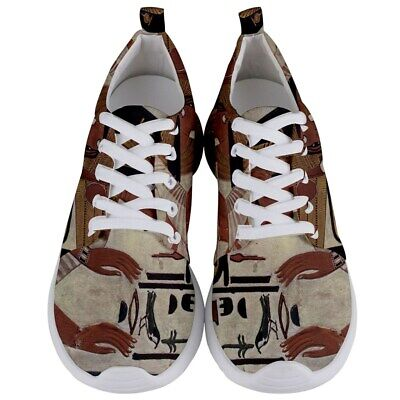 New Nefertari Ancient Egyptian Queen Mens Lightweight Sports Athletic Shoes