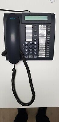 Siemens Optipoint 500 Phone System with 13 phones (black)