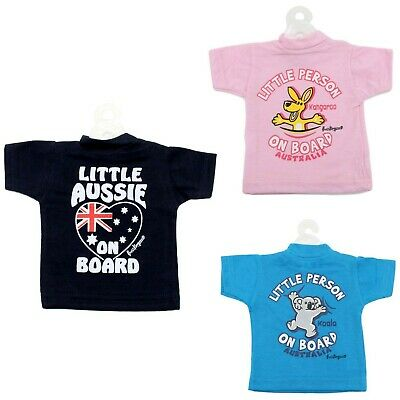 Australian Souvenir Baby Kids On Board Sign Kangaroo Car Safety Suction Cup