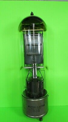 212 D  Western Electric  Amp Tube  Good Continuity Check   1 pc.