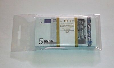 5 euro - SOUVENIR BANKNOTE 1 package .NEW.(98~100pcs)