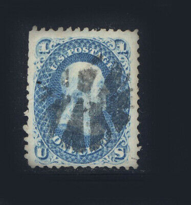 US #92 Grill 9 x 13 Used Stamp