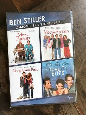 MEET THE PARENTS + FOCKERS + ALONG CAME POLLY + REALITY BITES DVD New Free Ship