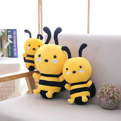 Lovely Soft Little Bee Animal Doll Stuffed Plush Toy Home Party Kid Gift