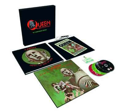 QUEEN News Of The World 40th Anniversary Edition Box Set 2017 Sealed