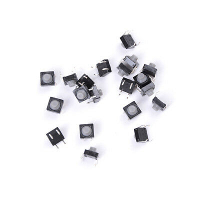 20x 8x8x5MM 4PIN Tactile Push Button Micro Switch Direct Self Reset Soundless TG