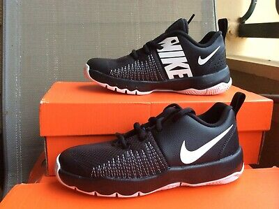 6d3b386294a NEW YOUTH KIDS NIKE TEAM HUSTLE QUICK (PS) BASKETBALL SHOES BLACK WHITE Sz