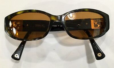 ccbd2d87c0082 Coach Hope HC 8012 Eyeglasses Frames Womens Pre-owned 5001 113Dark Tortoise