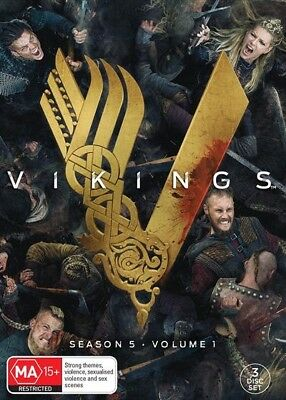 Vikings Season 5 Part 1 : NEW DVD