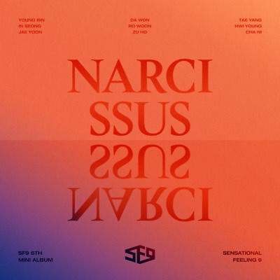 SF9-[Narcissus]6th Mini Album Temptation Ver CD+2p Poster+Booklet+PhotoCard+Gift