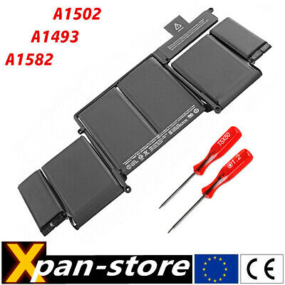 A1493 A1582 batterie pour MacBook Pro Retina 13 A1502 2013 2014 2015