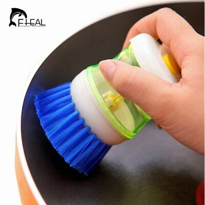 FHEAL® Creative Kitchen Tools Plate Pot Washing Brush Dish Bowl Brushes Cleaners