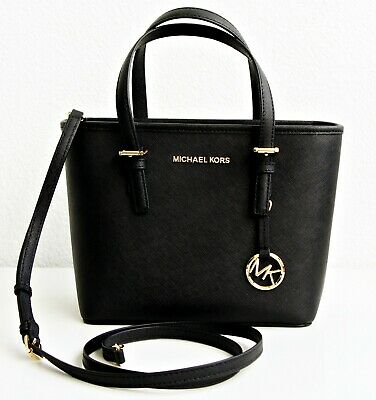 59a7963f066abf Michael Kors Borsa / Jet Set Travel XS Carry All Totale 35S9GTVT0L Nero  Nuovo