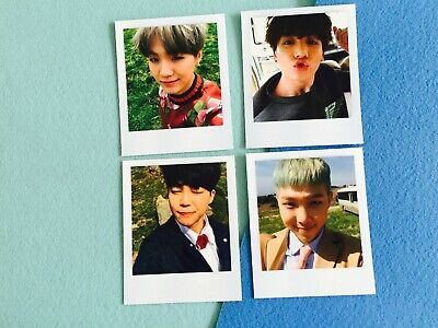Bangtan boys BTS Young forever official polaroid photocard