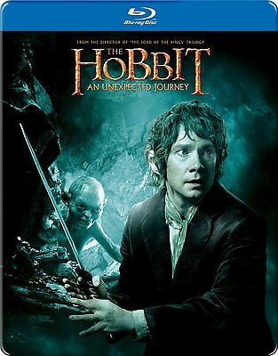 The Hobbit - An Unexpected Journey -STEELBOOK (BLU-RAY +UV ) BRAND NEW & SEALED